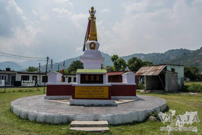 monasterio tibetano pokhara