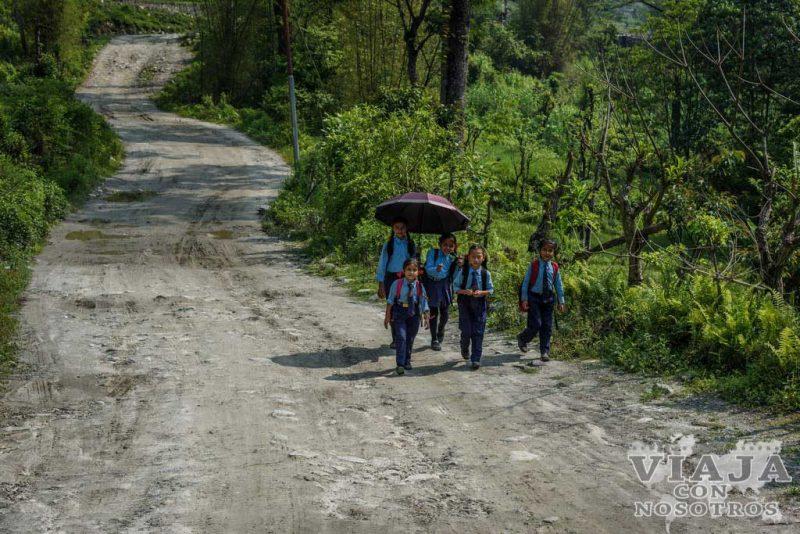 how to go from pokhara to nayapul