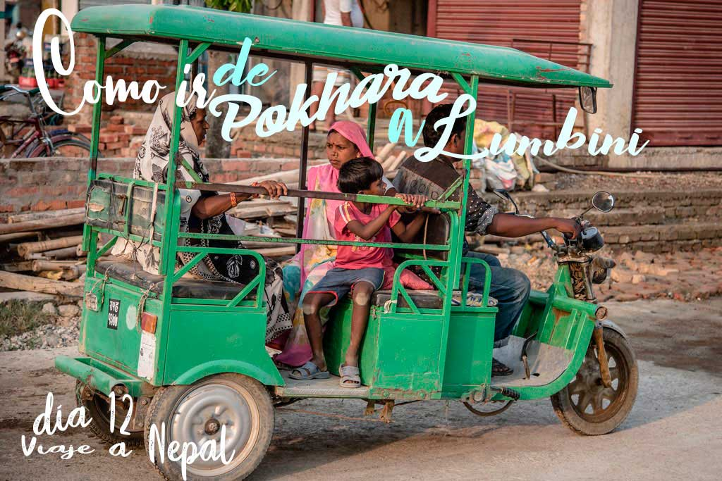 Como ir de Pokhara a Lumibini en transporte público