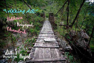 Como ir de Pokhara al comienzo del trekking de los Annapurnas. Como ir de Pokhara a Nayapul en transporte público.