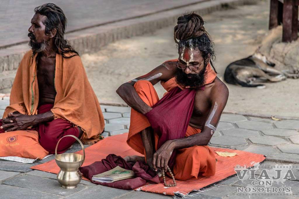 Meditación en Lumbini