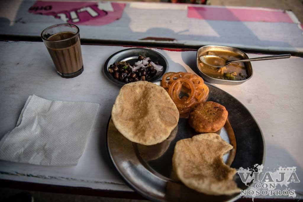 Donde comer en Lumbini