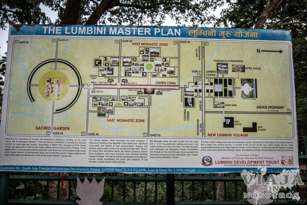 Como moverse en Lumbini