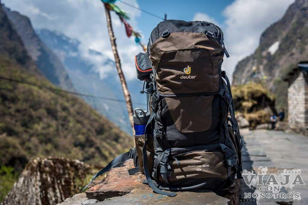 Que mochila llevar al trekking de los Annapurnas