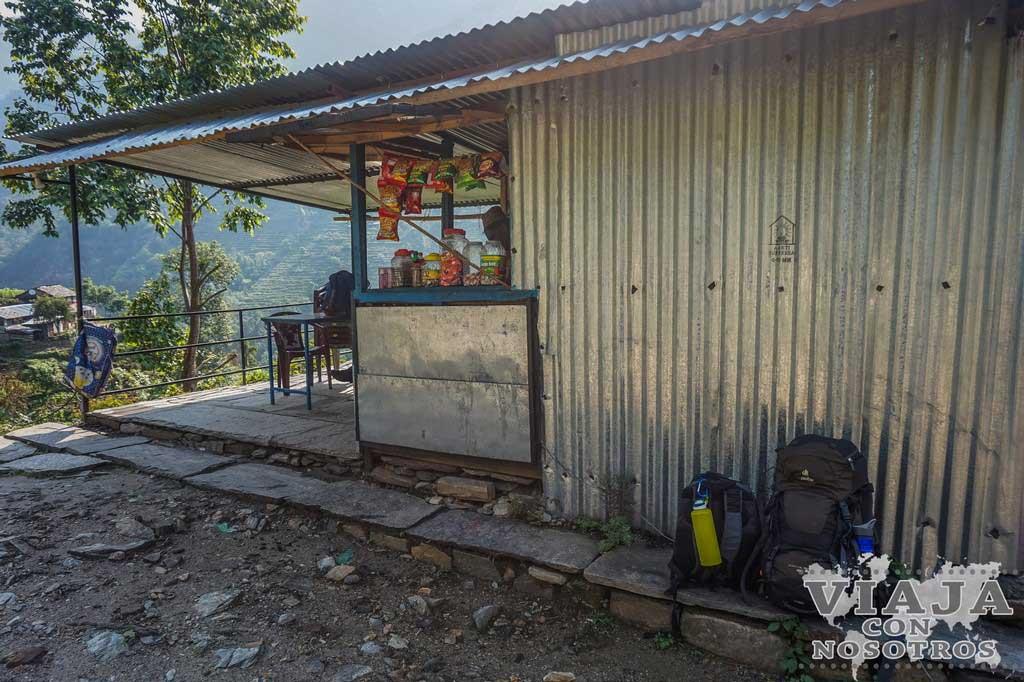 Donde coger el bus para finalizar el trekking de los Annapurnas