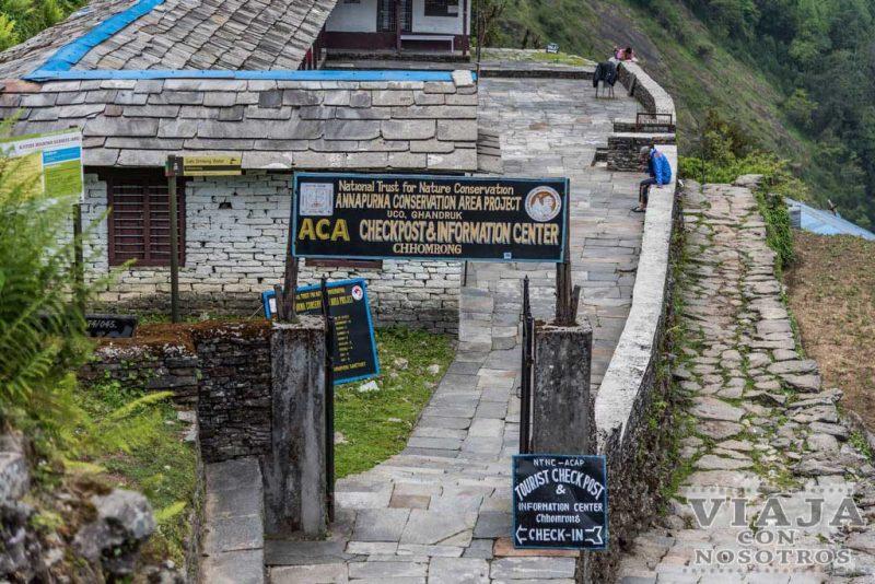 Control trekking Annapurna