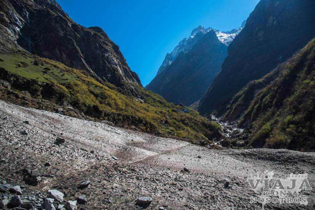 Material necesario para el trekking de los Annapurnas