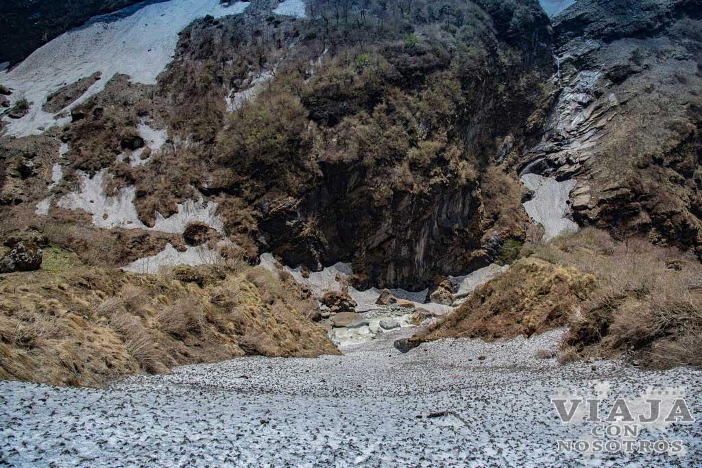 Es difícil el trekking de los Annapurnas