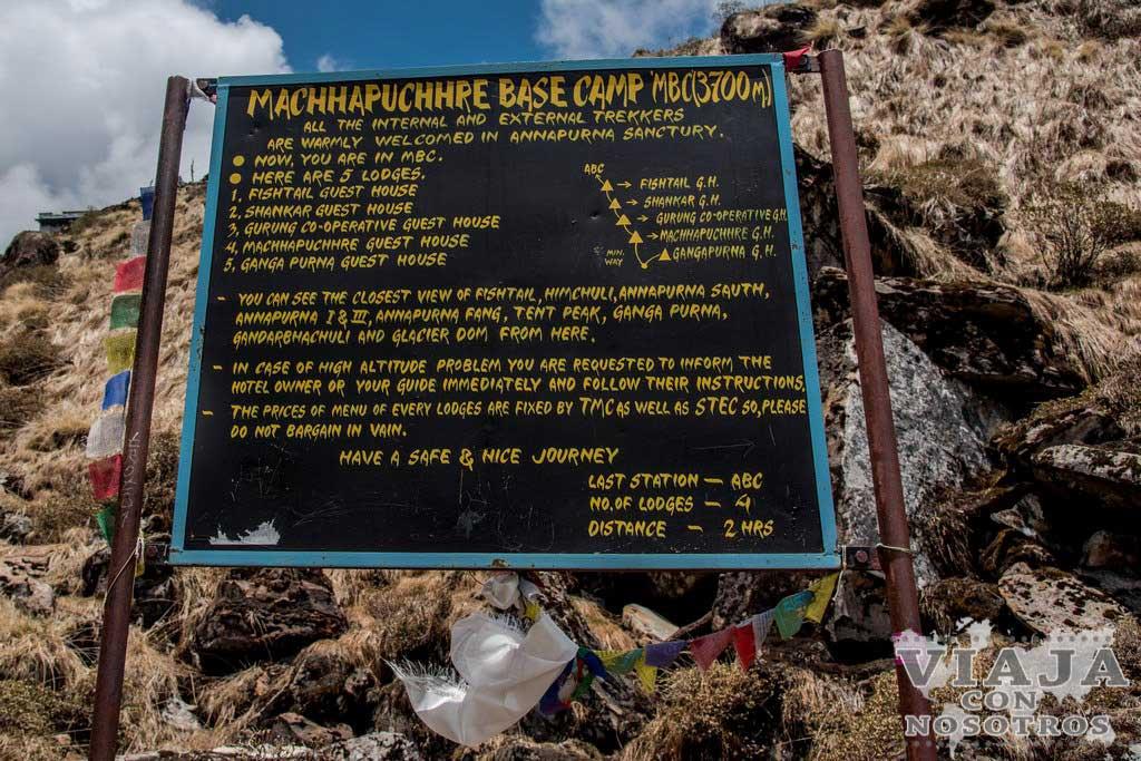 equipaje trekking annapurna