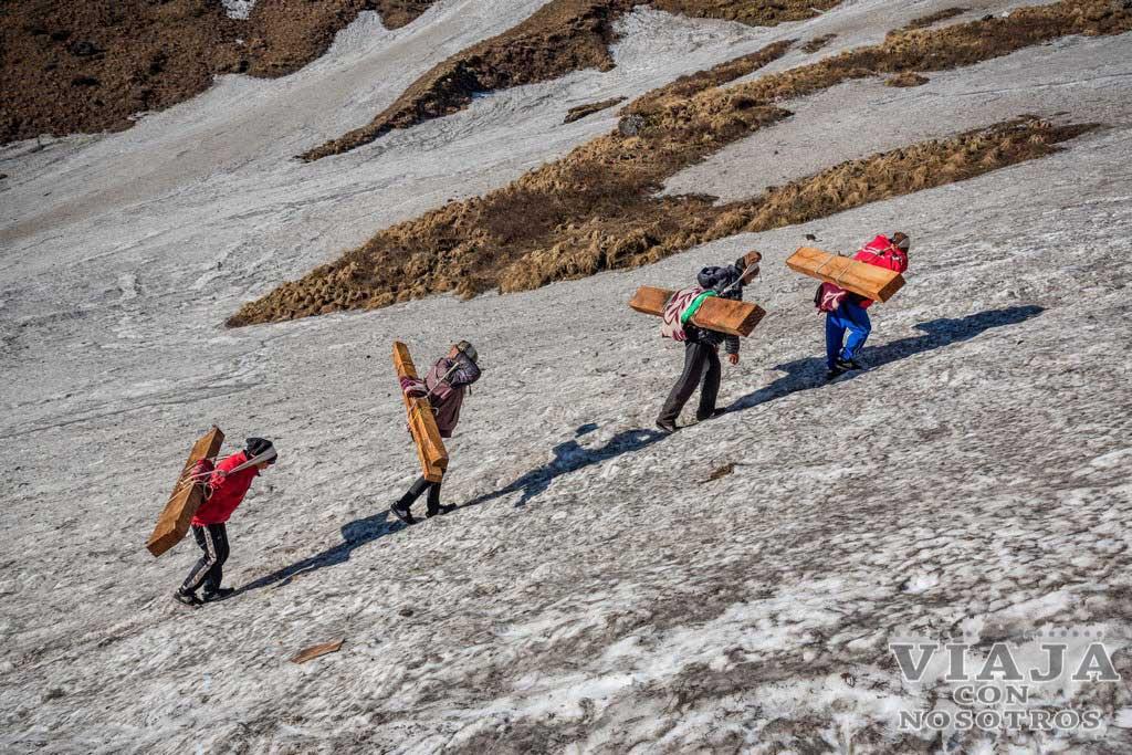 Porteadores del Annapurna