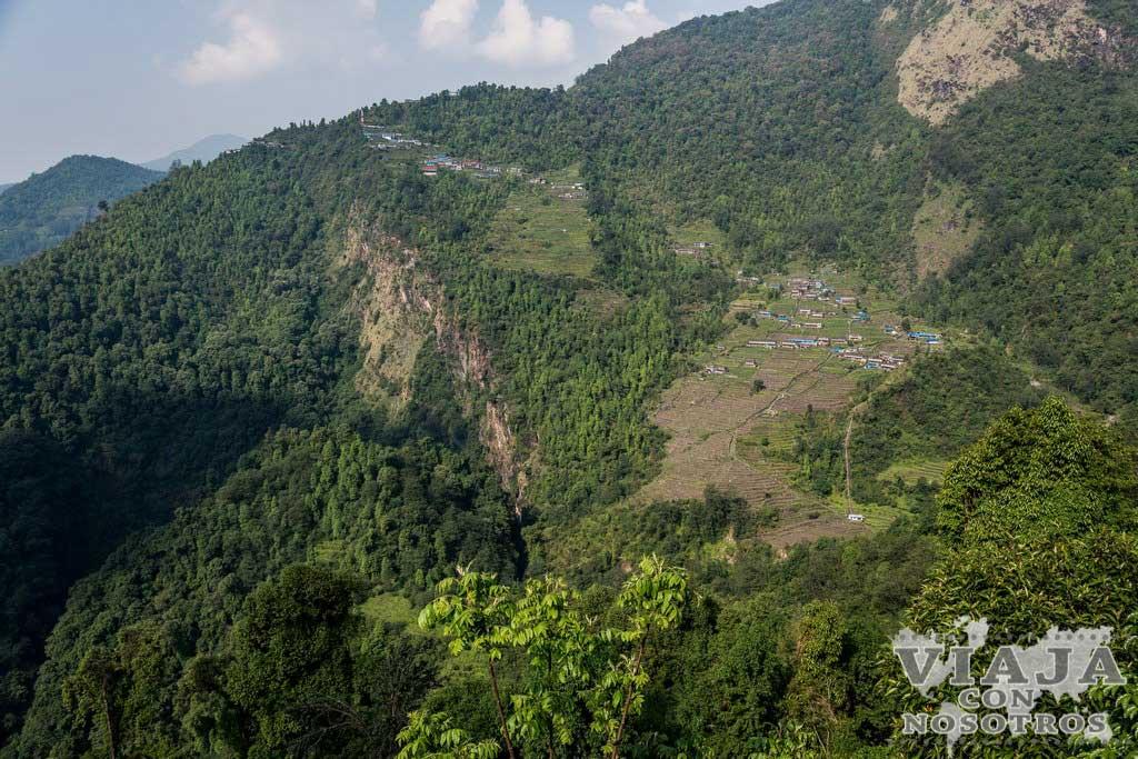 Duración en los tramos del trekking de los Annapurnas