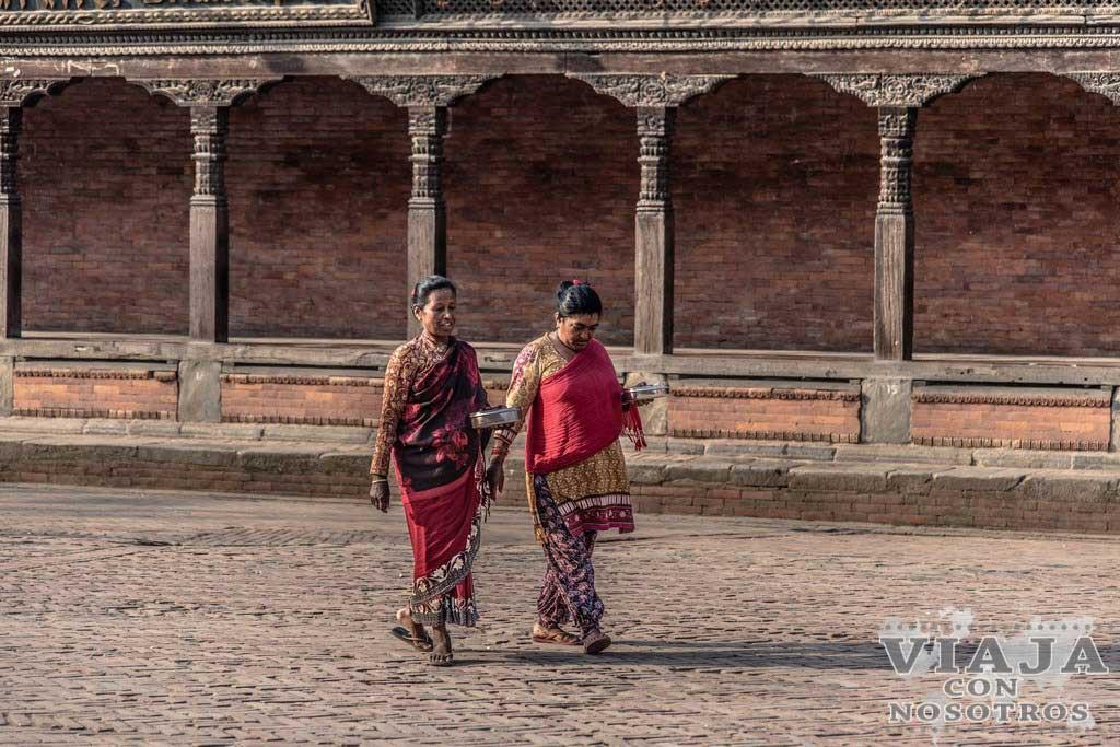Como moverte por Bhaktapur