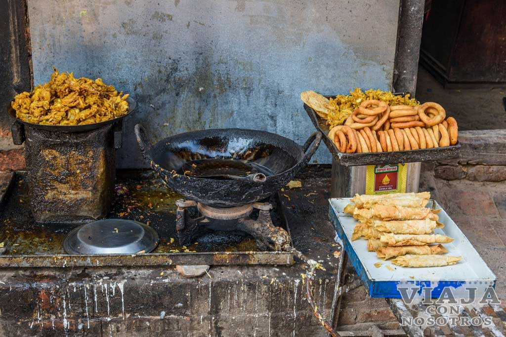 Que comer en Bhaktapur