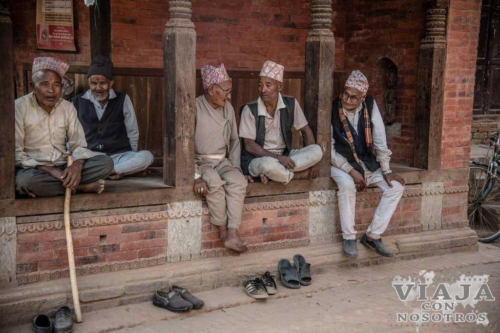 Estación de autobuses de Bhaktapur