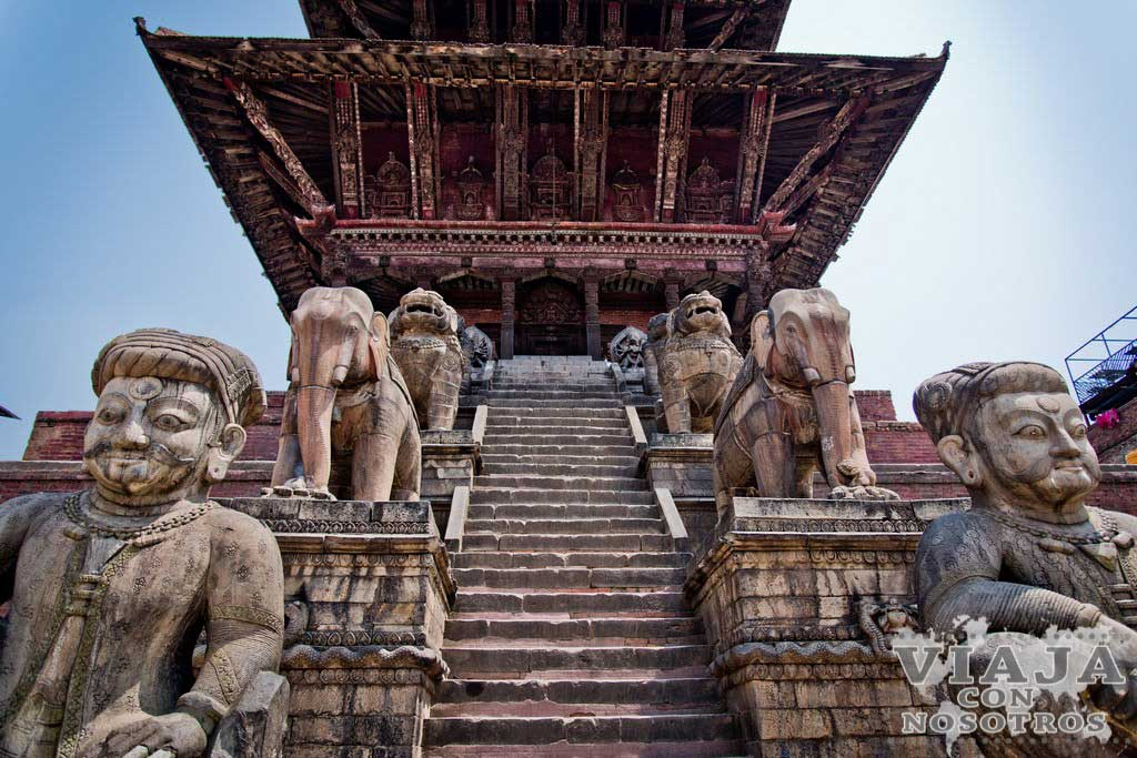 Templo Nyatpol o Nyatapola de Bhaktapur