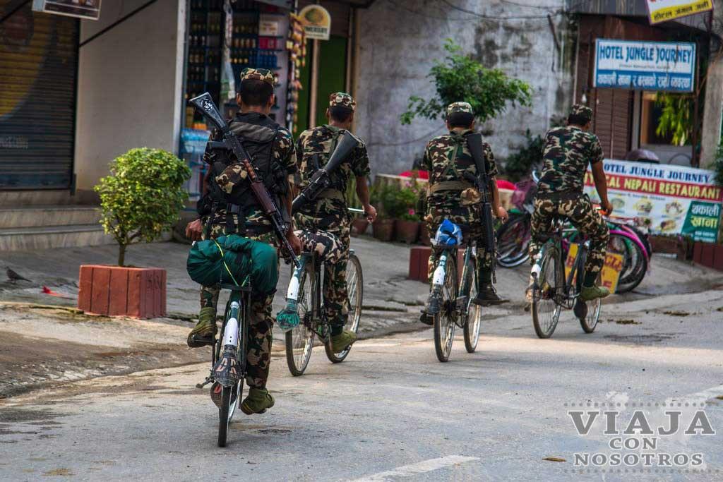 Compras en Chitwan