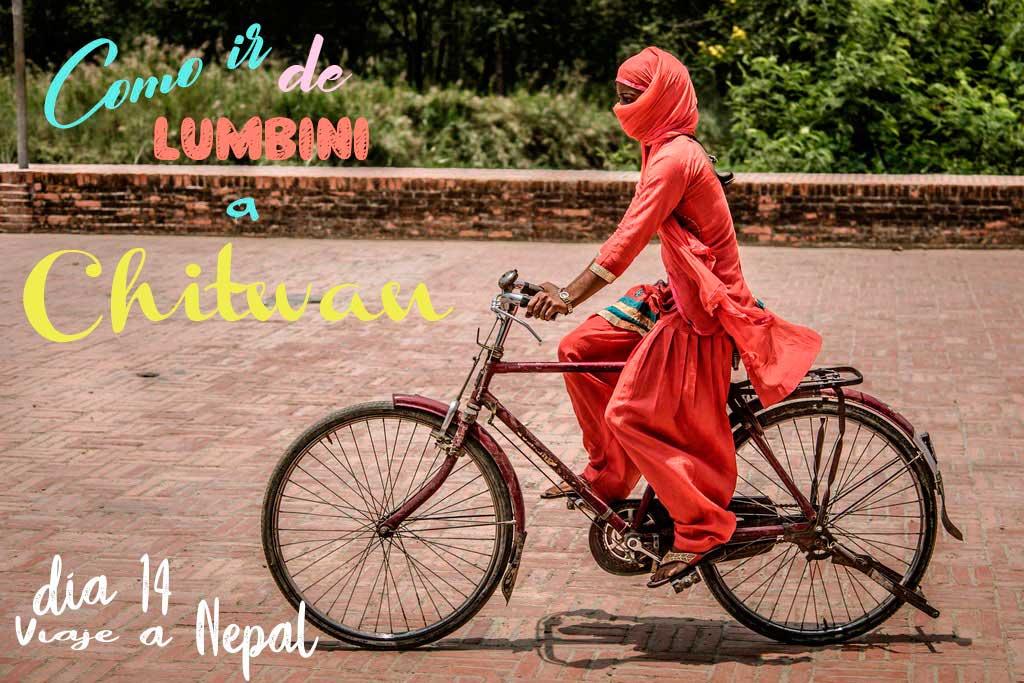Como ir de Lumbini a Chitwan en transporte público