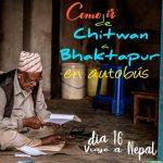 Como ir de Chitwan a Bhaktapur