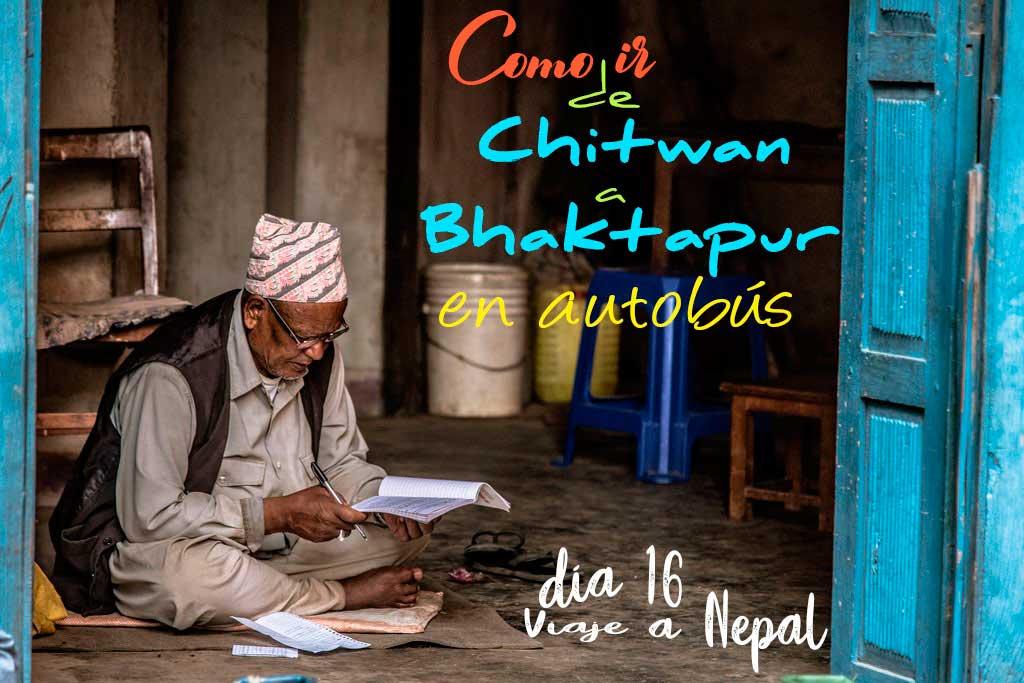 Como ir de Chitwan a Bhatakpur en transporte público