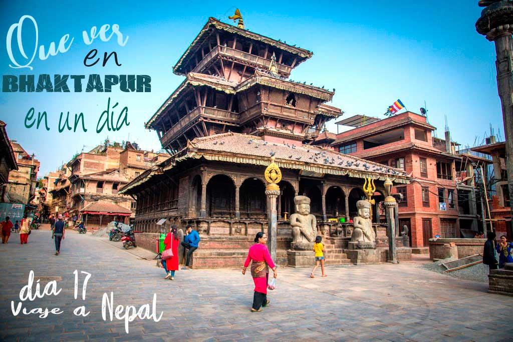 Que ver en Bhaktapur en un día