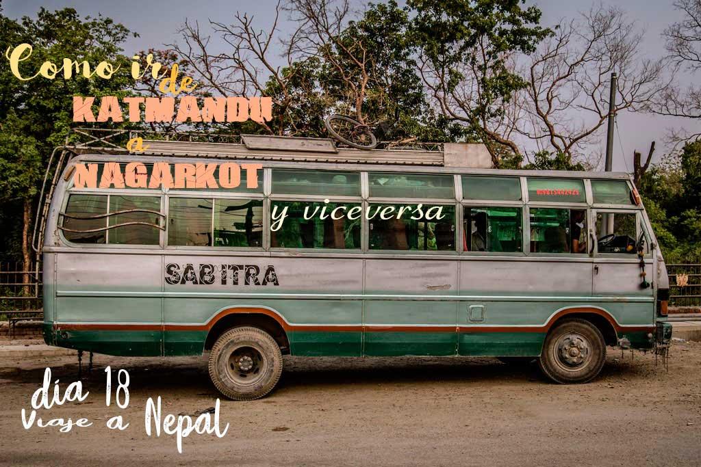 Como ir de Nagarkot a Katmandú