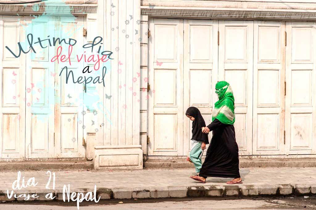 Compras en Nepal