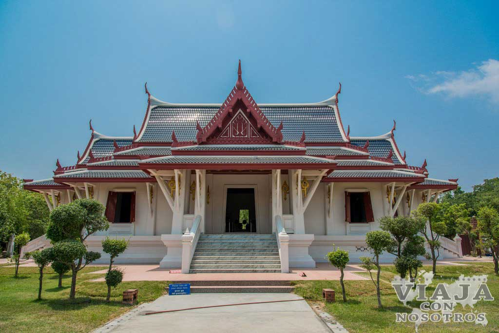 Visita donde nació Buda