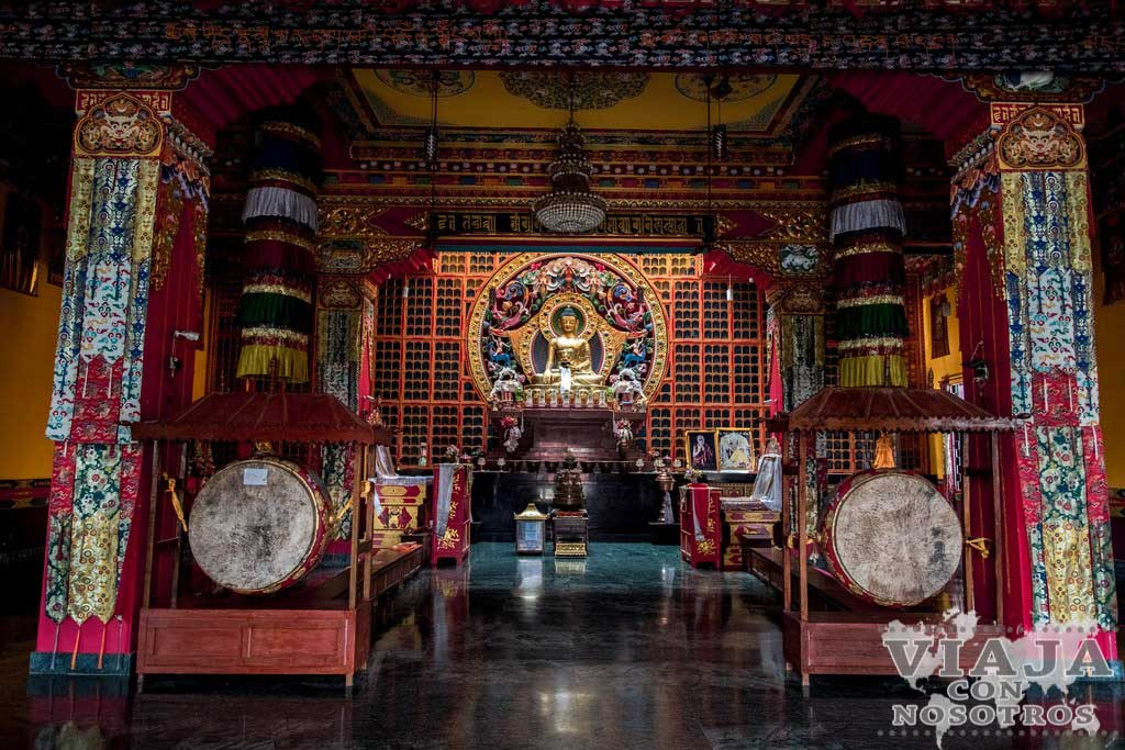 Monasterio de Canadá en Lumbini