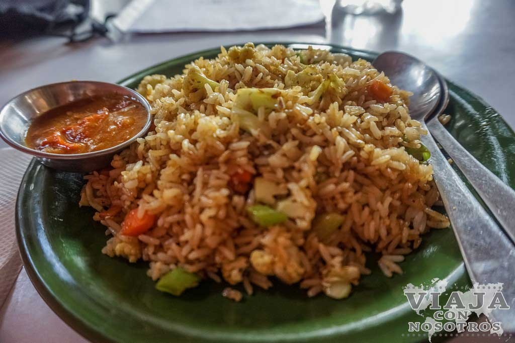 Que comer en Nagarkot