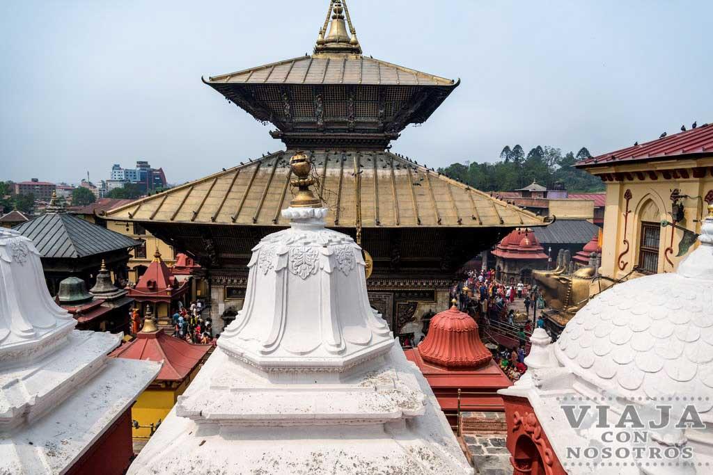 Donde ver cremaciones en Katmandú