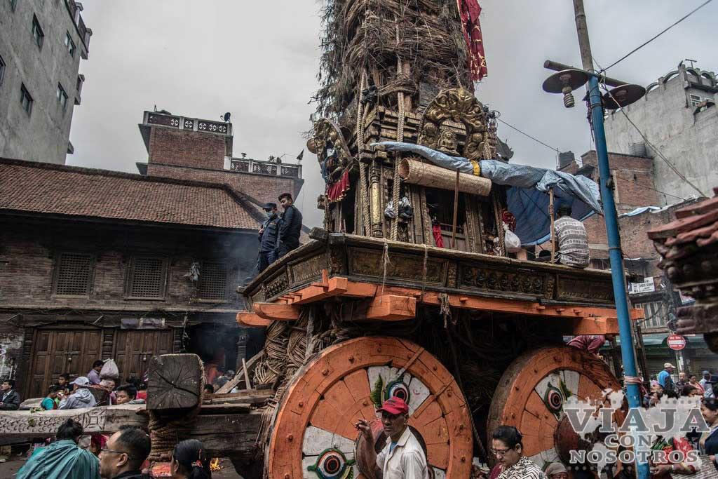 Cuanto se tarda de katamndú a Patan