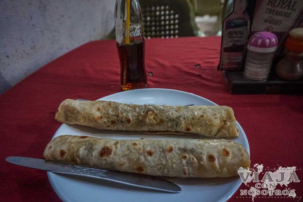 Que comer en Lumbini