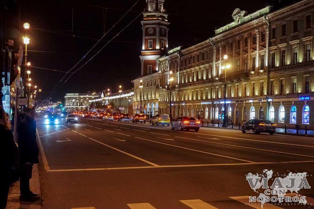 Calle Nevski de San Petersburgo