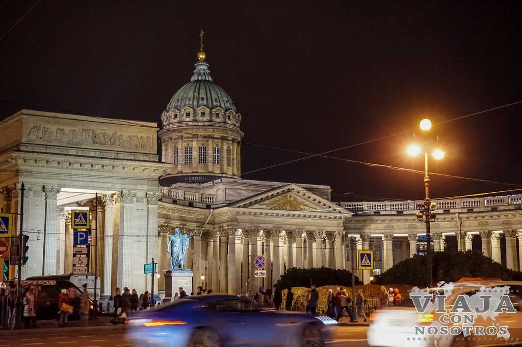 Catedral de Kazan de San Petersburgo