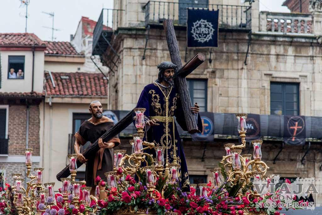 Itinerario procesión de los Pasos de León