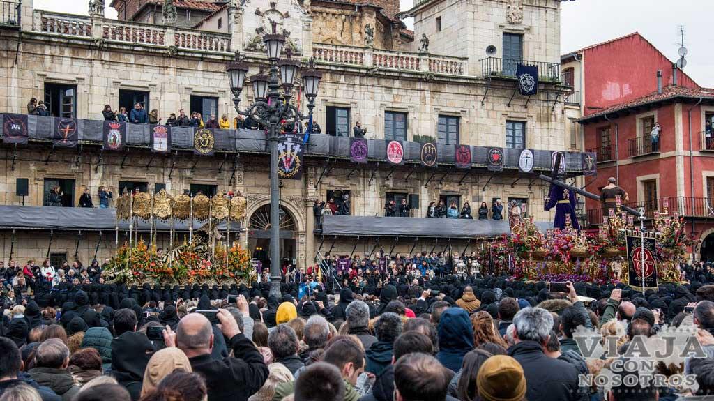 Itinerario procesión del Encuentro León