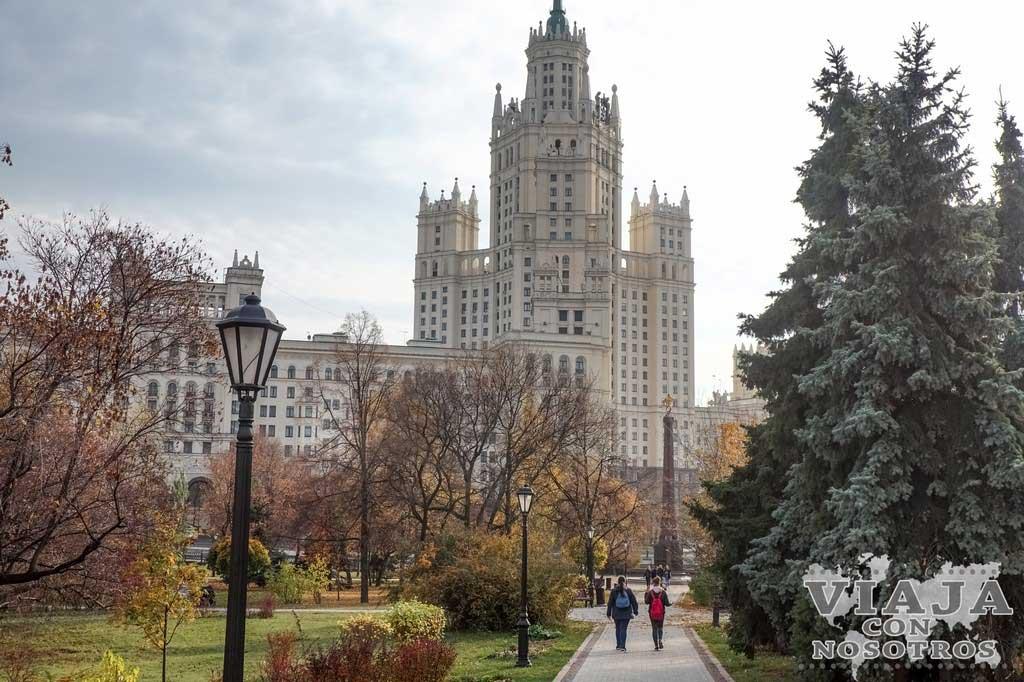 Guía para no perderte nada de Moscú