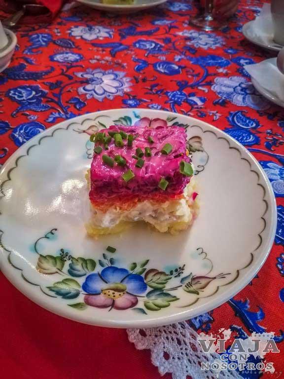 Consejos para comer en Rusia