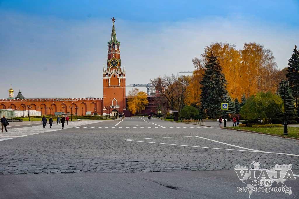 Como visitar el Kremlin