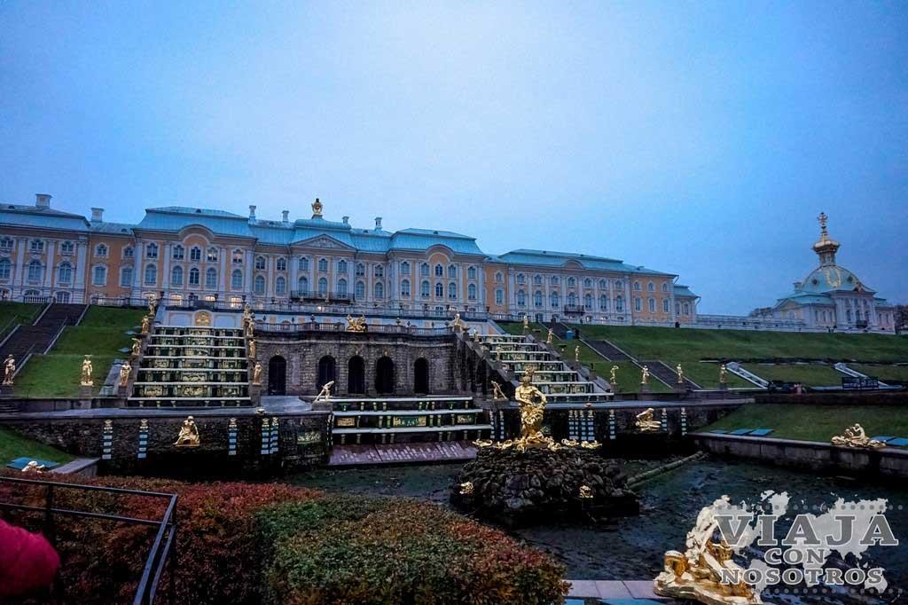 Palacio de Peterhof de San Petersburgo