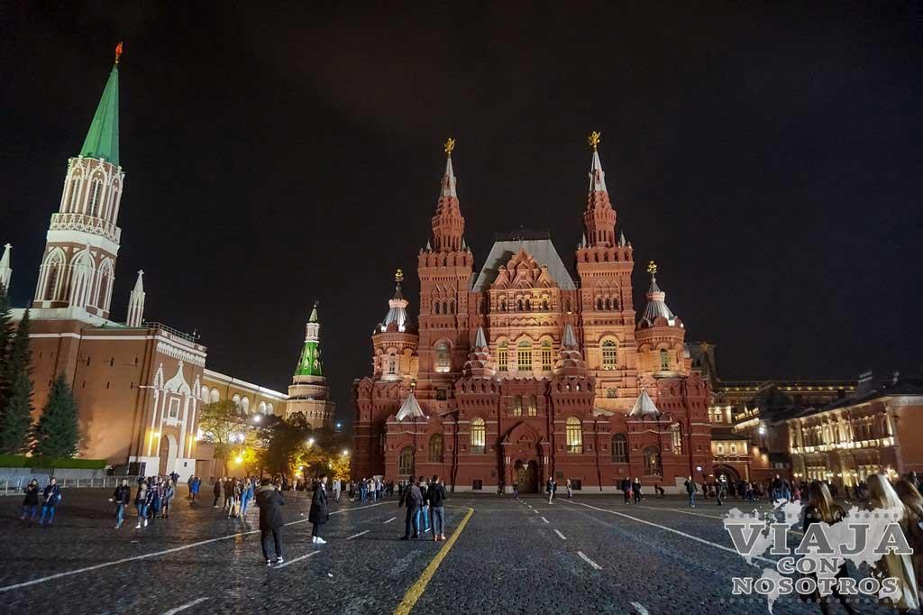 Como moverse por Moscú