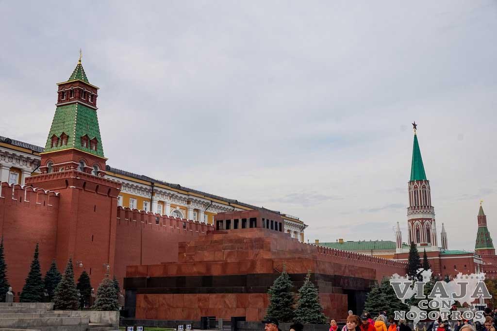 Consejos para visitar la Plaza Roja de Moscú