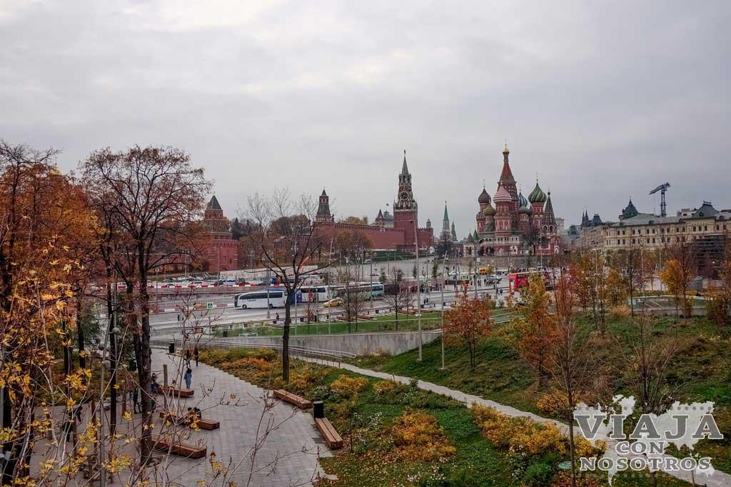 Donde comer en Moscú