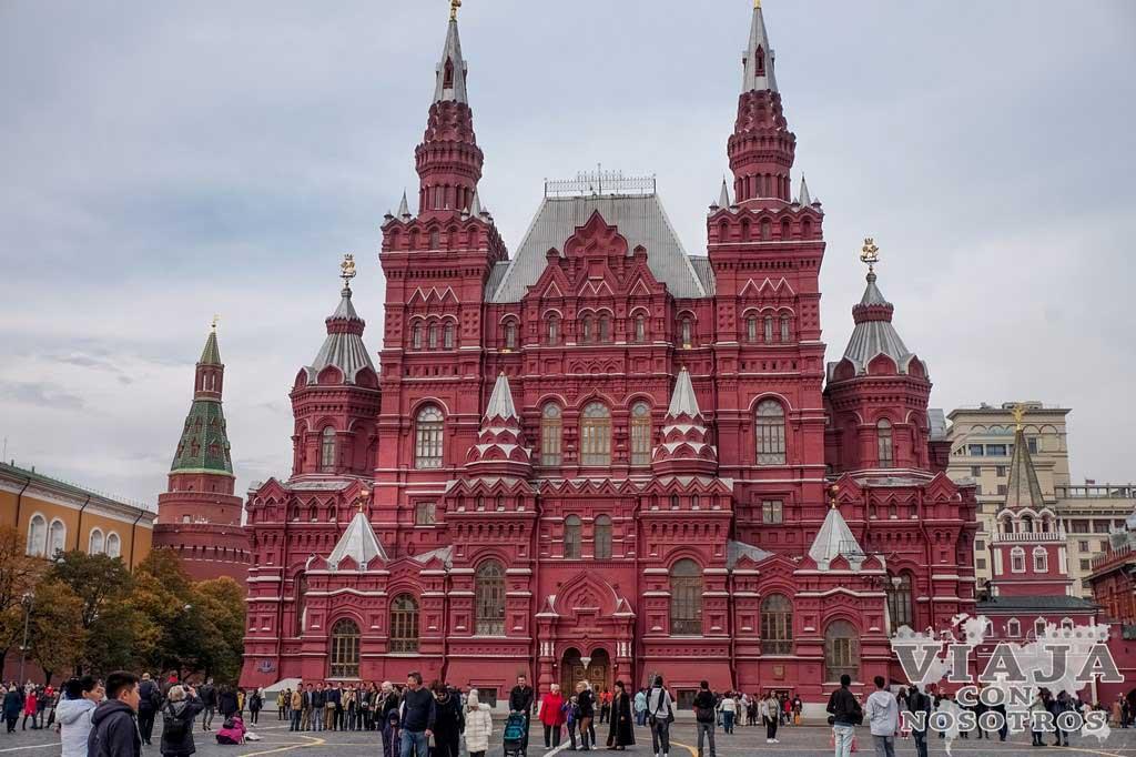 Los lugares imprescindibles para visitar Moscú