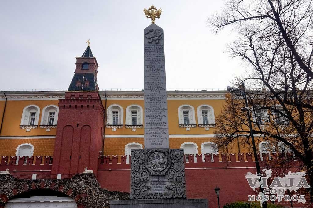 Mejor recorrido para visitar Moscú