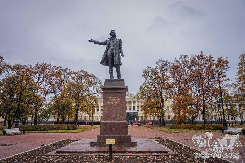 Estatua de Pushkin de San Petersburgo