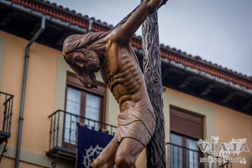 Santísimo Cristo de la Agonía, Pasos León