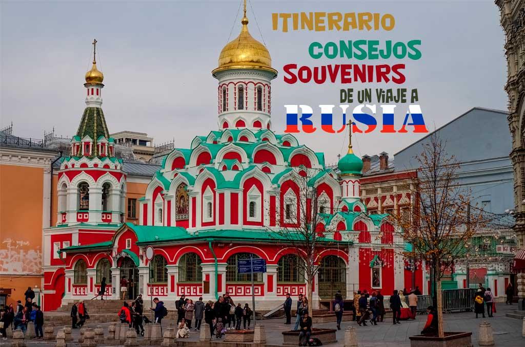 Itinerario de un viaje a Rusia