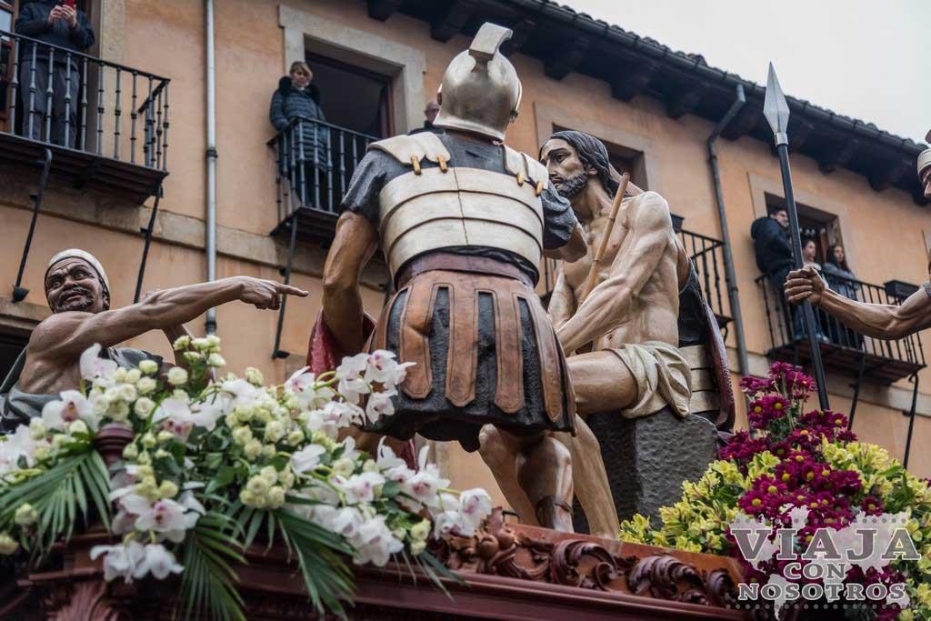 La Coronación de Espinas, Pasos León