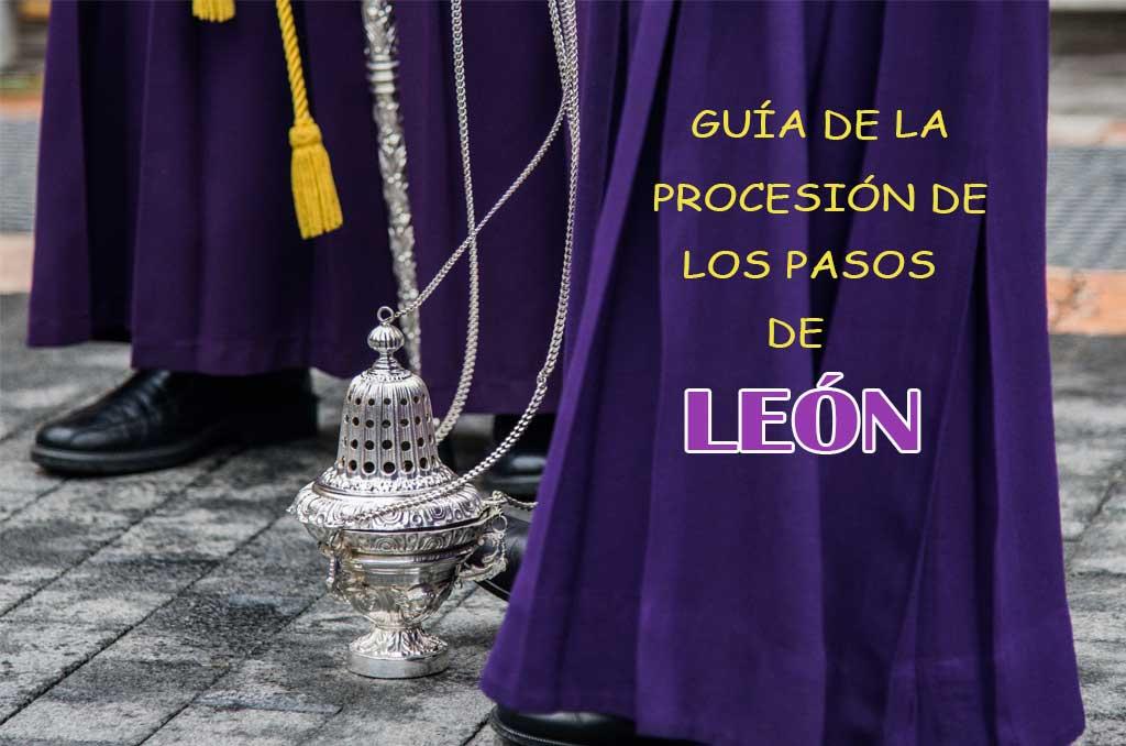 Guía procesión de los pasos de León